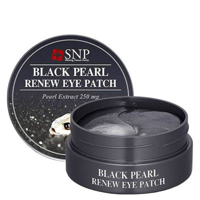 ПАТЧИ ДЛЯ ВЕК SNP BLACK PEARL RENEW EYE PATCH, 60 ШТ.