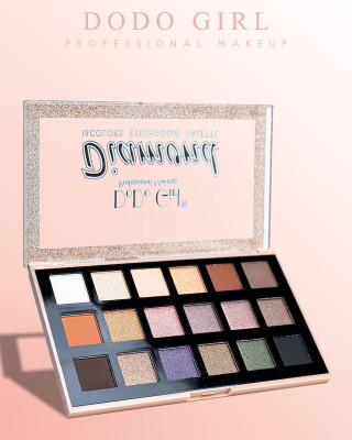 DoDo Girl Тени для век Diamond Eyeshadow